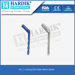 Barrel Locking DHS Plate (Round Hole) 38mm