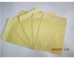 Yellow Laminated Paper Envelope