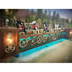 Wooden Catering Counter