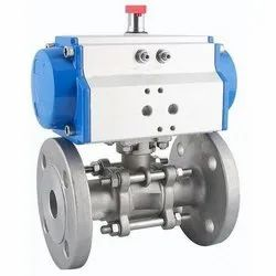 Pneumatic Actuated 2 Way Ball Valve