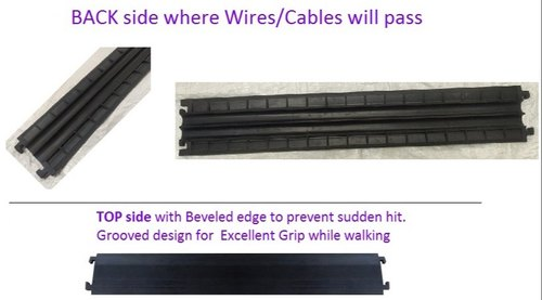 Floor Cable Protector Mat For Networking Cables