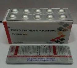 Thiocolchicoside & Aceclofenac Tablets