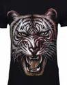 Tiger Glow Designed T - Shirt Mens