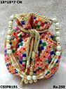 New Designer Printed Potli Bags