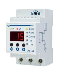 NOVATEK ELECTRO Power Control And Voltage Monitoring OM-163, Digit Display Size: 3 X 7 Segment