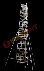 Stair Aluminum Double Width Mobile Scaffold