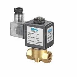 1/2 2 Way Direct Acting Solenoid Valve (NC) with LED
