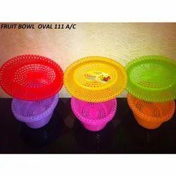 Oval Plastic Fruit Basket
