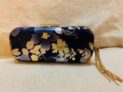 Floral Designer Box Clutch