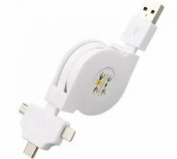 Pullable Data Cable with Type C-1