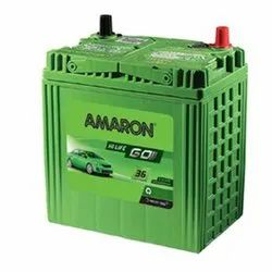 Amaron Car Battery, Capacity: 35ah