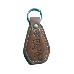 ASM Corporate Brown Leather Keychain, For Key Holder