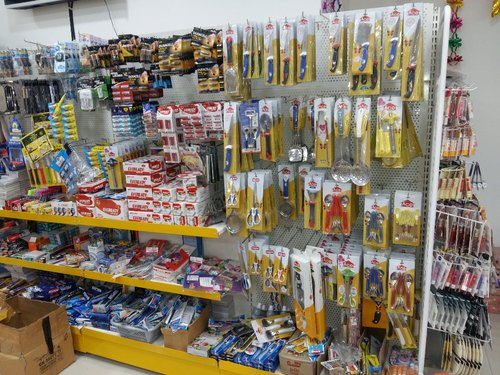 Departmental Store Perforated Rack