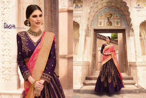 92da694702 Vritika Semi-stitched Fancy Lehenga, Age: Adult, Rs 4395 /piece | ID ...