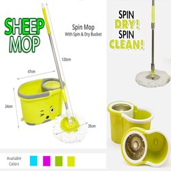 Sheep Bucket Mop