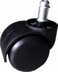 PIN TYPE Twin Wheel Caster