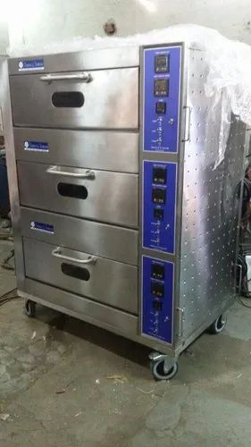 Three Deck SS Oven Machine
