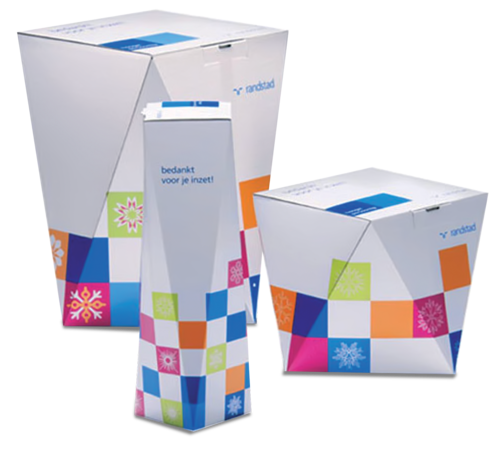 Paper Rectangular Mono Cartons, Box Capacity: 1-5 Kg