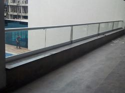 Aluminium Glass Railings
