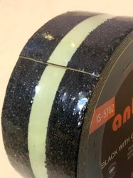 Anti Slip Tape Roll Adhesive Floor - Black 12Mm Glow Indark Strip