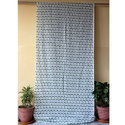 Hand Block Printed Curtain