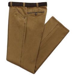 Fybros Cotton/Linen Casual Trouser