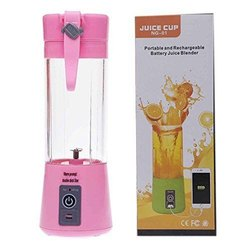 Juicers Portable and Rechargeable Battery Juice Blender, Capacity: 1l, for Kitchen