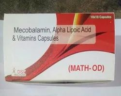 Methylcobalamin Alpha Lipoic Acid And Vitamins Capsules