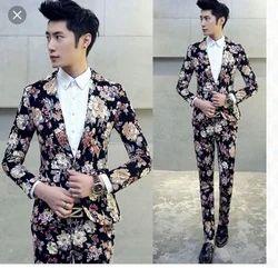 Men Printed Mens Formal Suits
