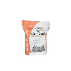 Soft Touch Wall Putty Powder, Packing: 40 kg