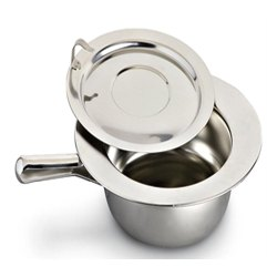 FBBPL3 Stainless Steel Bed Pan with Lid