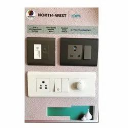 White And Black Nort West Wipro North West Modular Switches