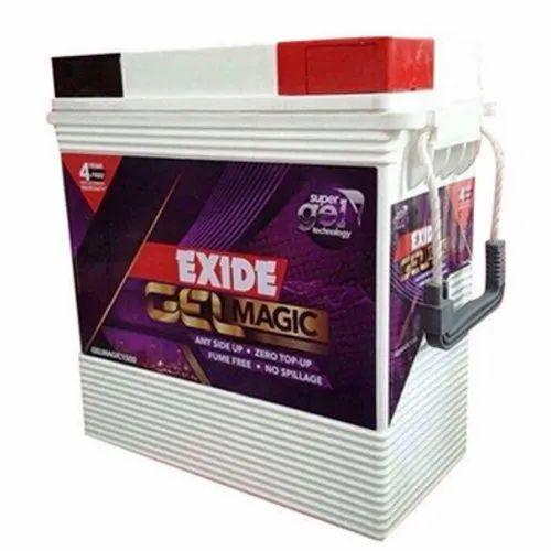 Exide Gel Magic Inverter Ups Battery