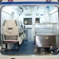 Mortuary Van Rentals, Hearse Van in India