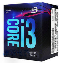 INTEL CPU CORE i3 8100 PROCESSOR