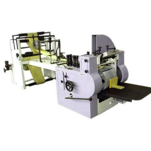 Fully Automatic Paper Cover Making Machine, Capacity: 10000-15000 bags/day