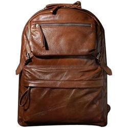 0b718f13c0 Leather Laptop Backpack Bag