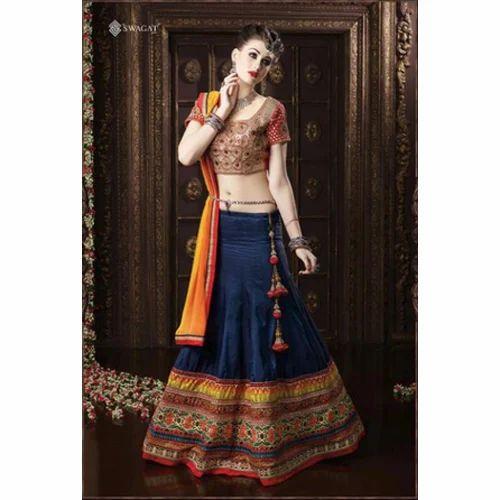 745ce1d46e Fancy Party Wear Semi-Stitched Lehenga Choli, Rs 3385 /piece | ID ...