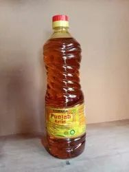 Punjab Rattan Mustard Oil, Packaging Type: Plastic Bottle, Packaging Size: 1 litre