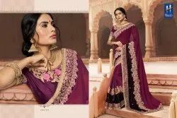 Hitansh Fantasy-15 Series 7271-7282 Stylish Party Wear Georgette Saree