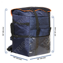 Blue Polyester Triage Ekart Delivery Bag, Bag Size: 13 X 16 X 20 Inch
