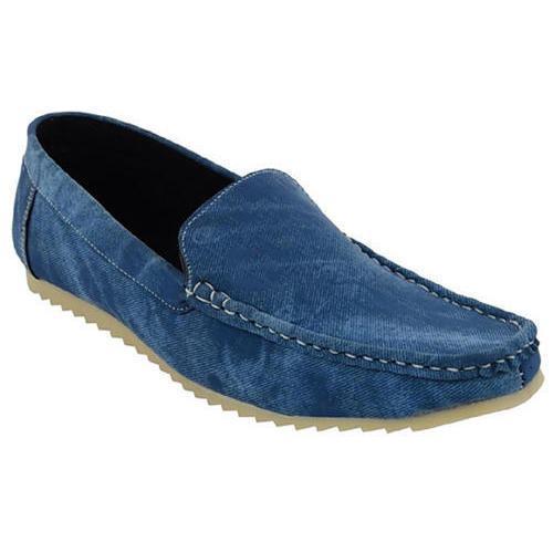 f93b25e0d97 Mens PVC And PU Casual Wear Loafer Shoes