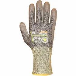 Gray Unisex Metalfit Cut Resistant Gloves for Industrial, Size: Medium