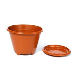 Brown Flower Pots