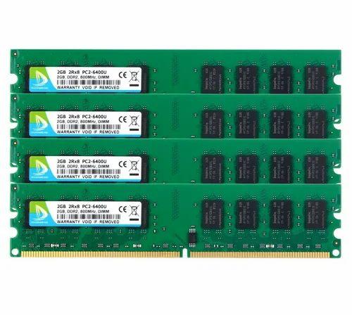 8GB Kit4 X 2GB DDR2 800MHz 2RX8 PC2 6300 6400