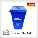 Garbage Waste Bin 80 Ltr Flat Lid
