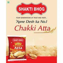 Shakti Bhog Atta Shakti Bhog MP Wheat Chakki Atta, for Chapatis