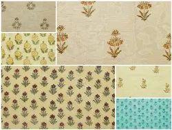 Handicraft-Palace Chanderi Silk Printed Fabric