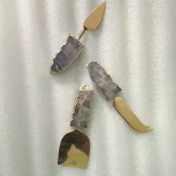 TIC Amethyst Cutlery Knifes, Size: 6 inch