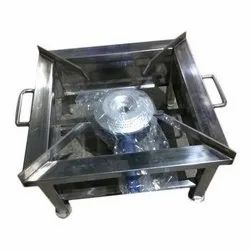Stainless Steel 1x1 Feet Gas Stove